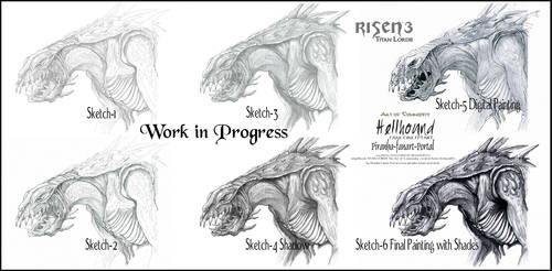 Risen3 Titan Lords  Hellhound Workflow