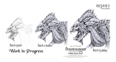 Risen3 Dragonsnapper Workflow
