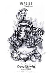 Risen3 Gnome Pitworker Sketch by ArthusokD