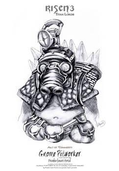 Risen3 Gnome Pitworker Sketch