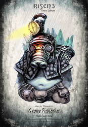 Risen3 Gnome Pitworker Painting Poster by ArthusokD