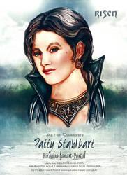 Risen Patty New Artwork Poster