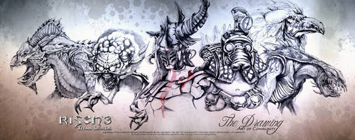 Art of Communy Risen3 Creature Panorama by ArthusokD