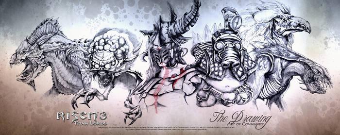 Art of Communy Risen3 Creature Panorama