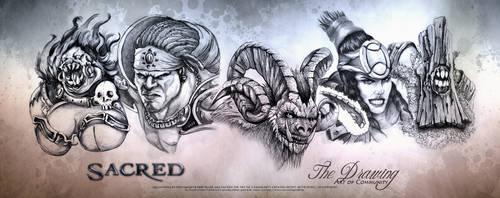 Art of Communy Sacred Creature Panorama