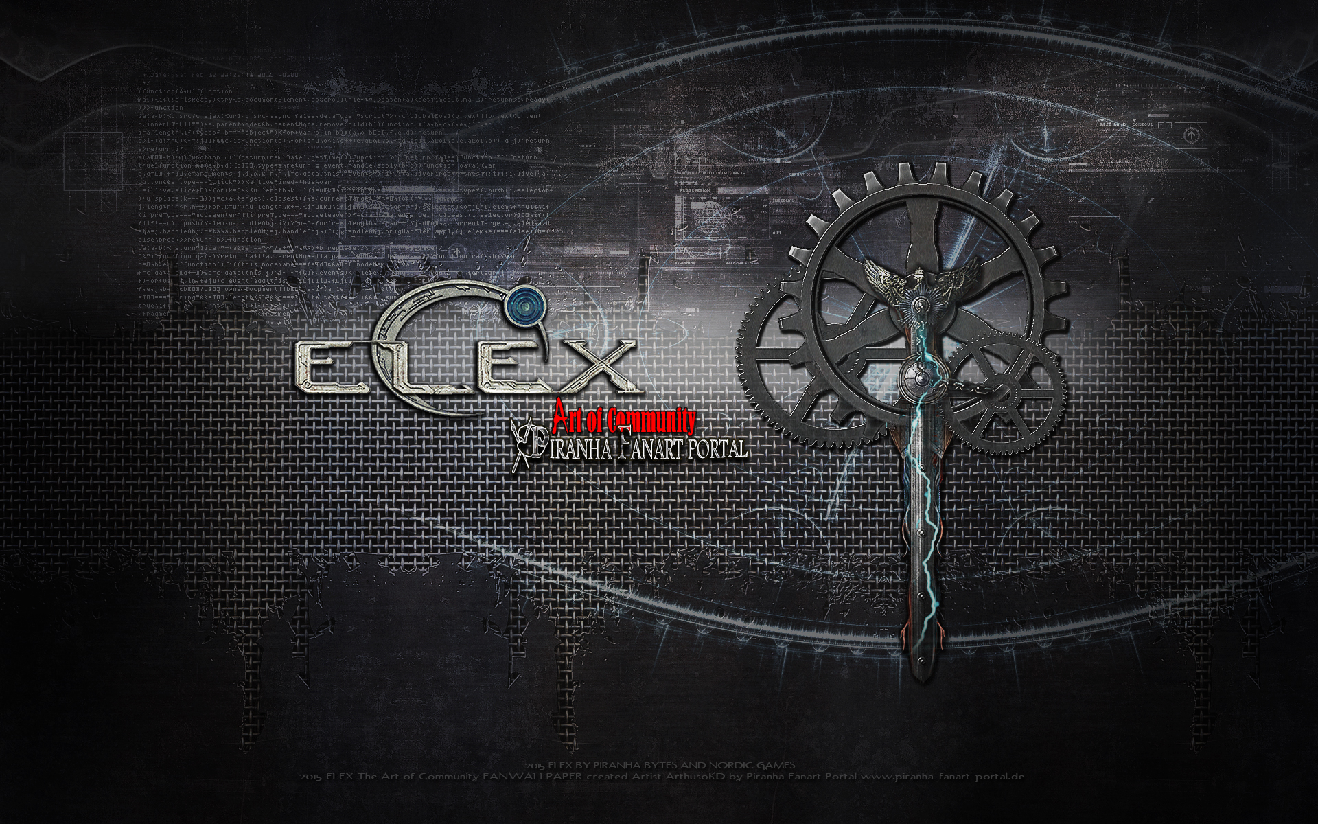 ELEX TECH WALLPAPER by ArthusokD