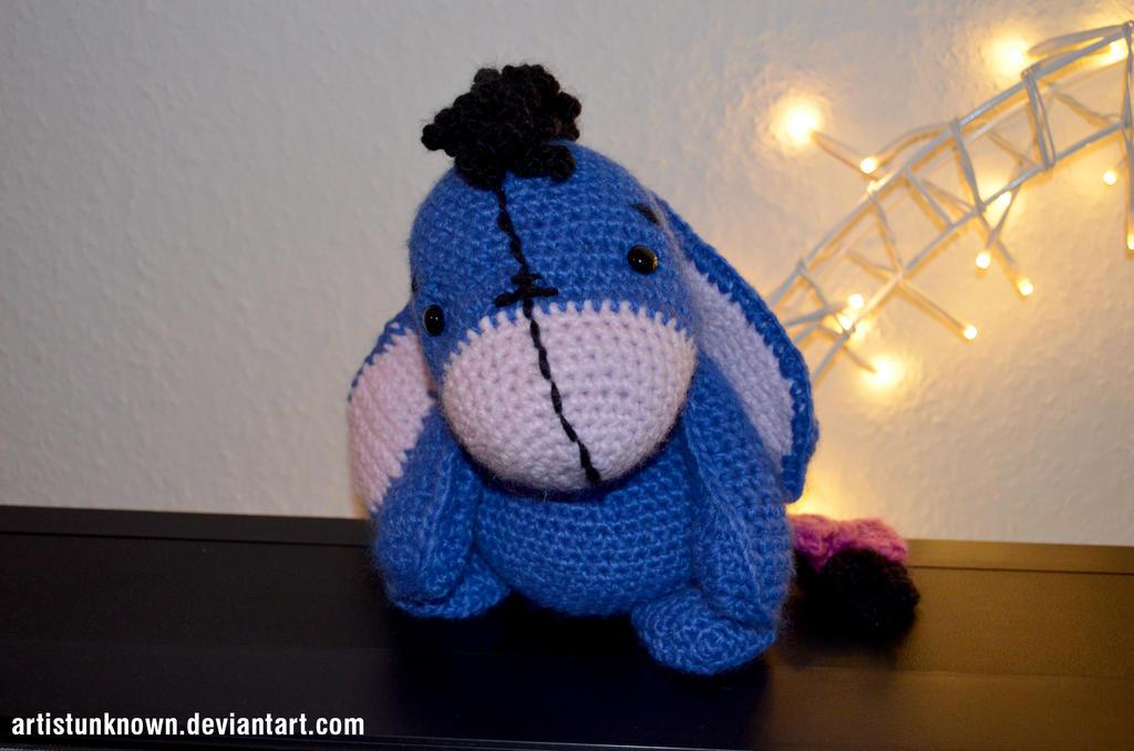 Eeyore crochet by ArtistUnknown