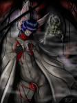 Bat Tease by NiktanaArt