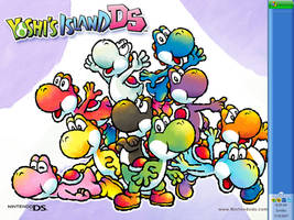 Yoshi Island DS by badcoin