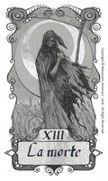 tarot 13 - The Death - la morte