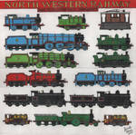 North Western Railway Engines