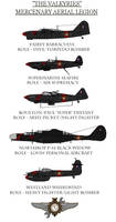 The 'Valkyries' Aerial Legion