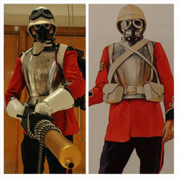 Steampunk Soldiers - Sincerest Form Of Flattery?