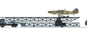 Dieselpunk RAF Mobile CAM Squadron