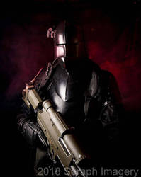 Warhammer 40,000 Feudal World Imperial Guardsman by Leadmill