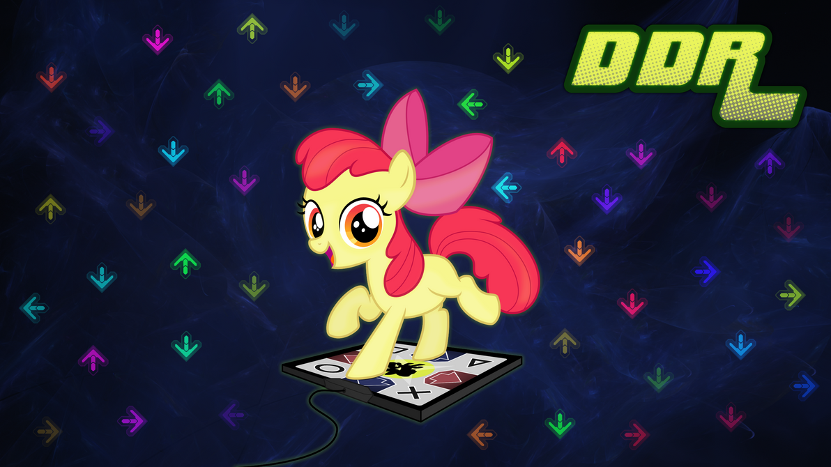 Dance Dance Applebloom By Zapplebow On Deviantart