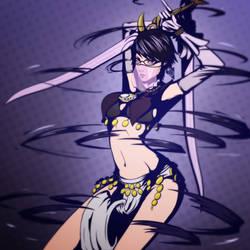 Bayonetta 2 - Rakshasa (commision)