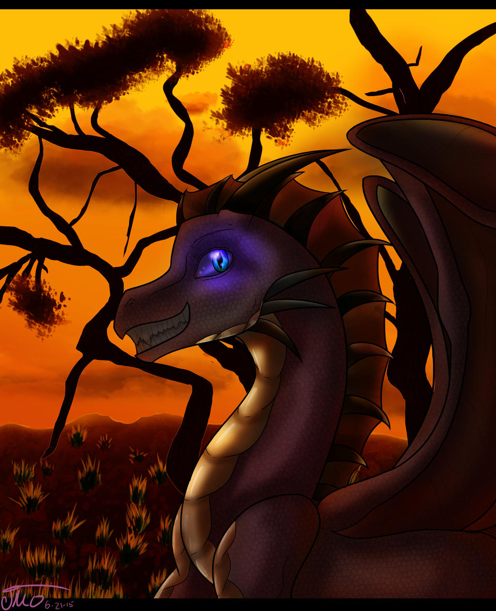Dragon Sunset |Dragons And Sunsets
