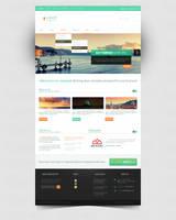 LindeN company WordPress theme by Bob-Project