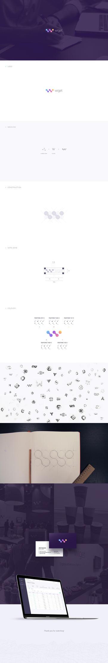 Wiget Media - Brand Identity by Bob-Project