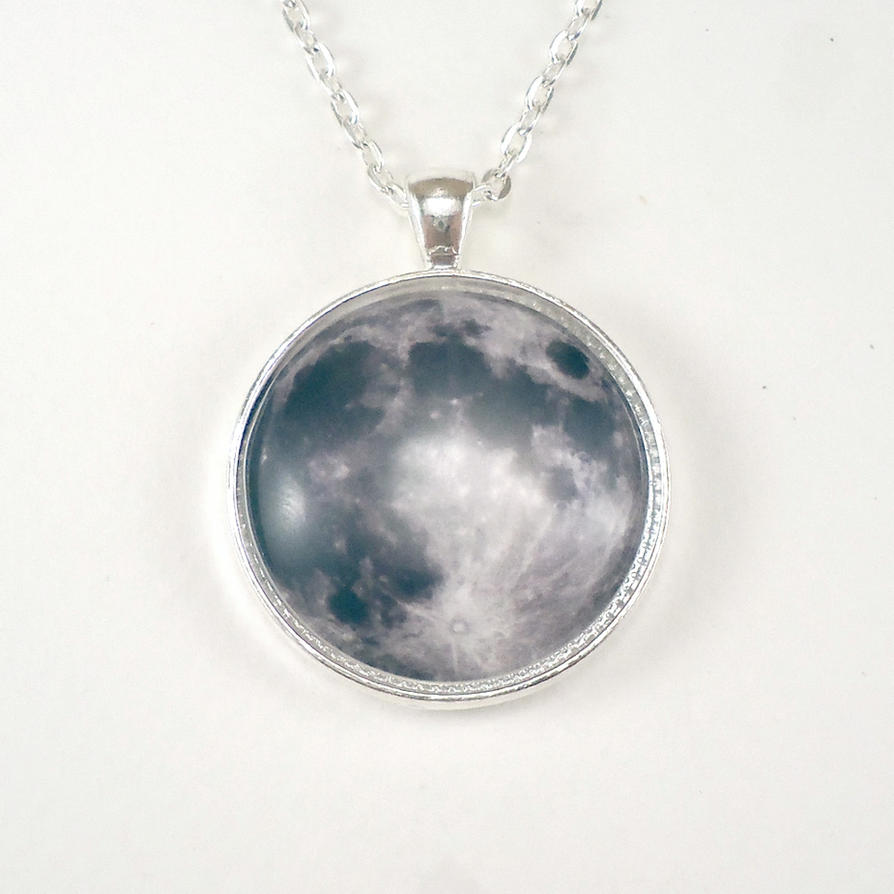 Full Moon Necklace by cellsdividing