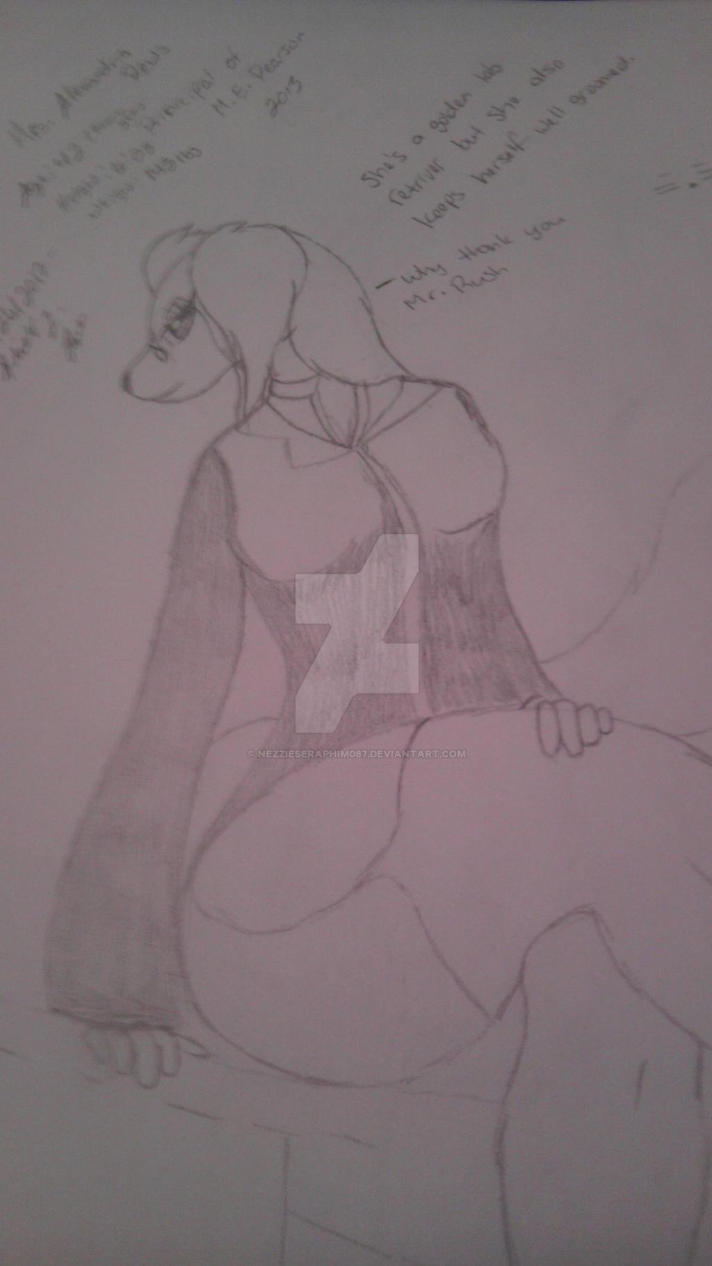 Mrs. Alexandria Rews - Original Character by NezzieSeraphim087