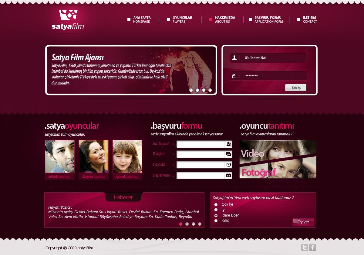 Satyafilm Webarayüzü