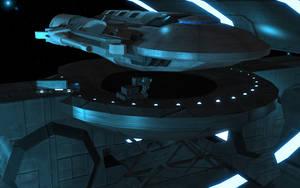 Space dock by Xolarix