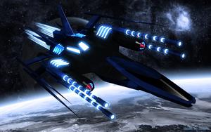 Nighthawk Deluxe Wallpaper by Xolarix