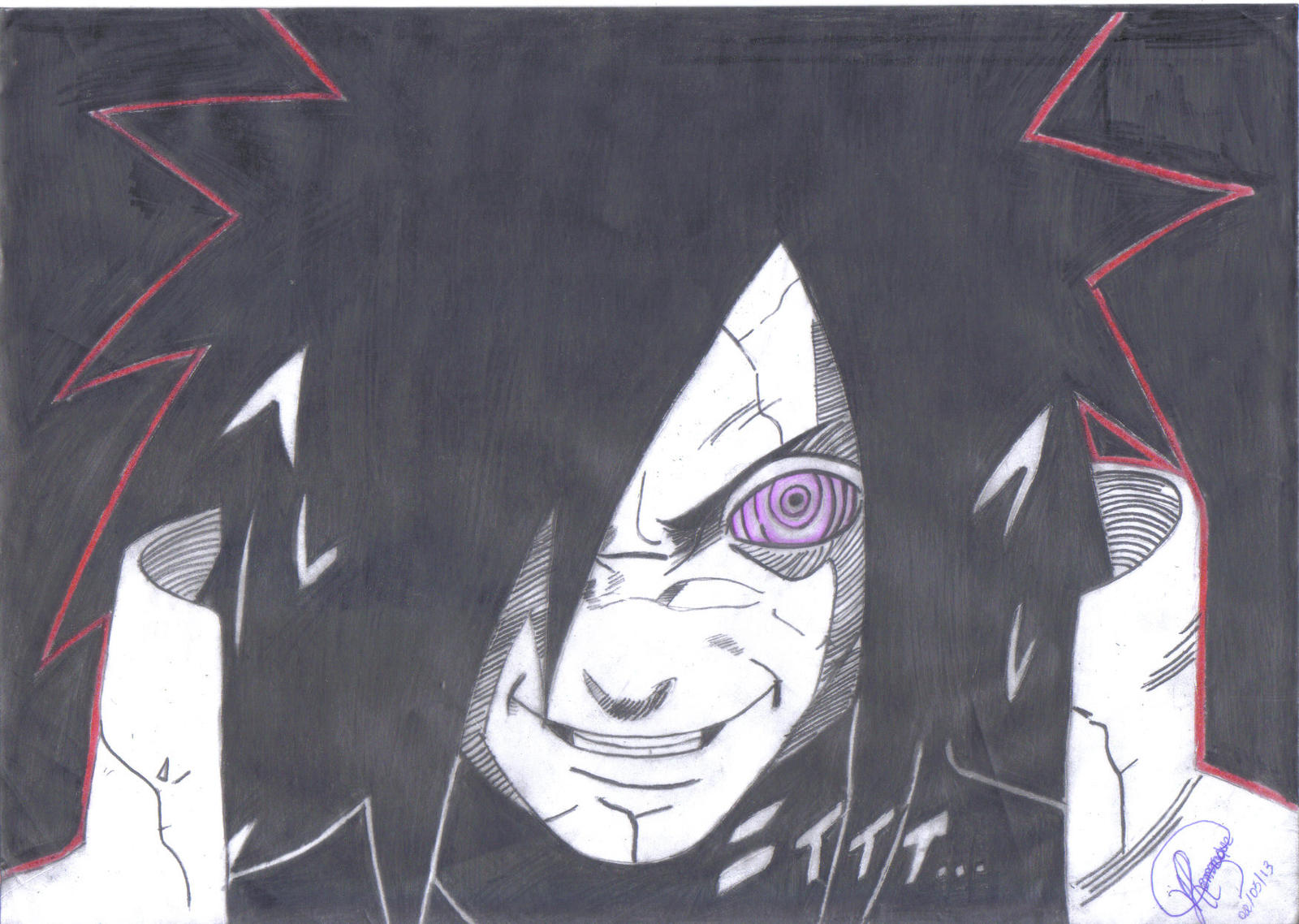 Uchiha Madara by Ronstadt