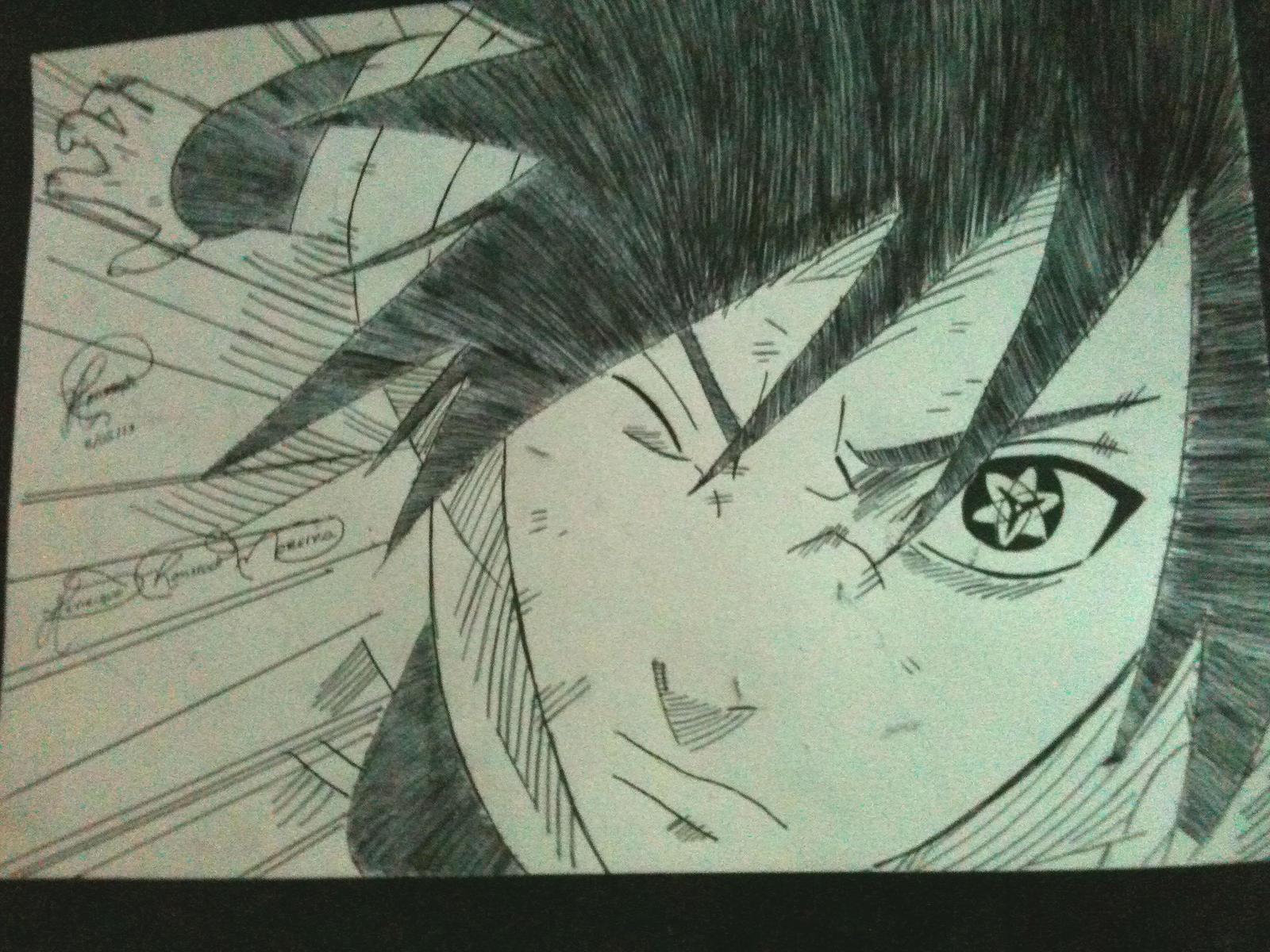 Sasuke AMATERASU!!! by Ronstadt