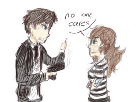 Hetalia Ocs: Manchester VS Cornwall - No one cares by ImOnlyLittle