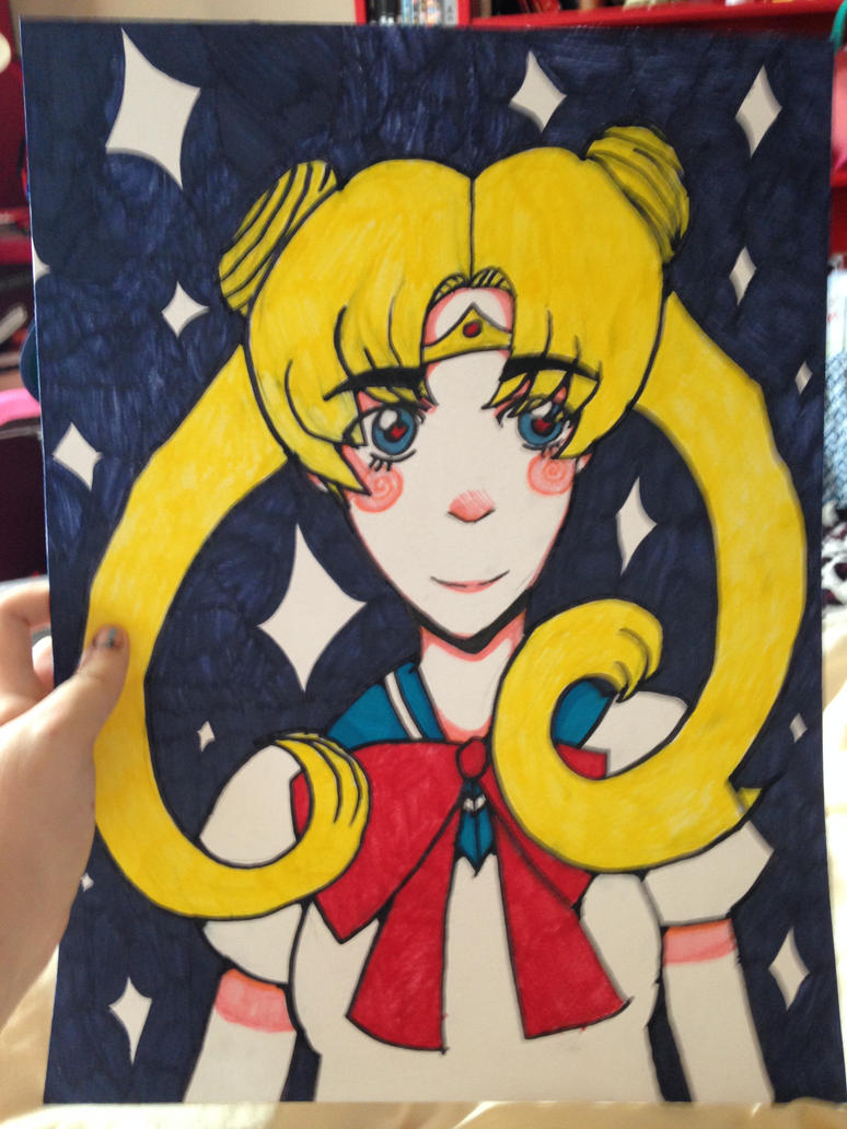 Sailor Moon by ImOnlyLittle