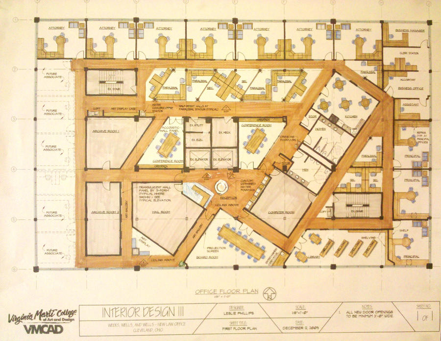 Law Office Floor Plan: Floor Plan-Law Firm By Philli41 On DeviantArt