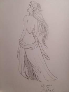 Lady Elbereth (Sketch)