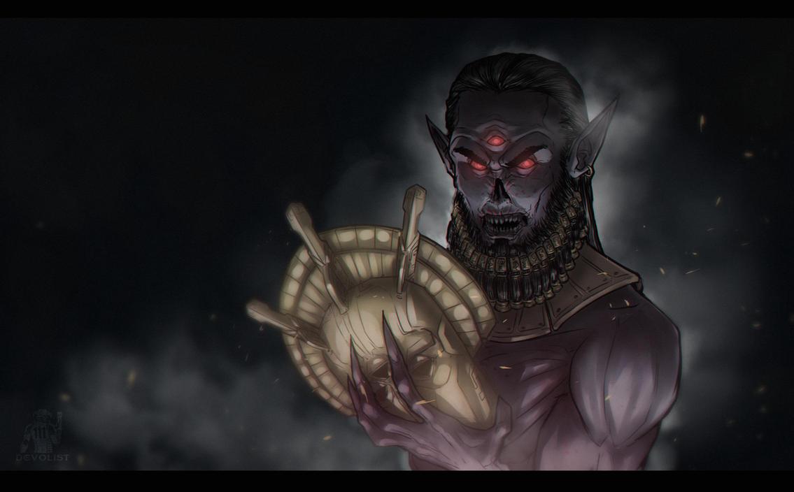 Dagoth Ur by Devolist