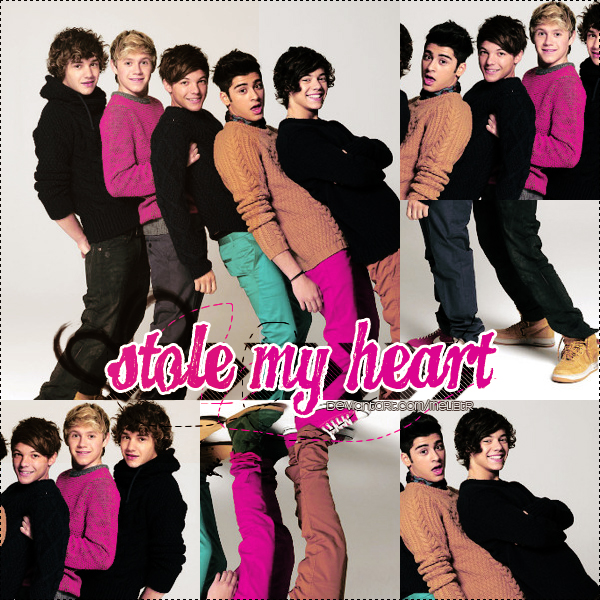 STOLE MY HEART CHORDS by One Direction
