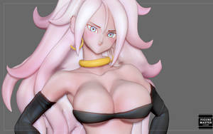ANDROID 21 SEXY MODEL FOR 3D PRINT
