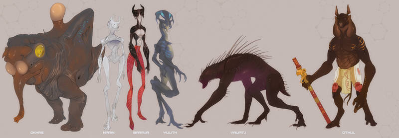 Alien Races Vol XIII