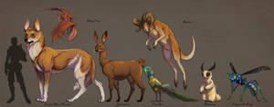 Fantasy Animals VOL IV