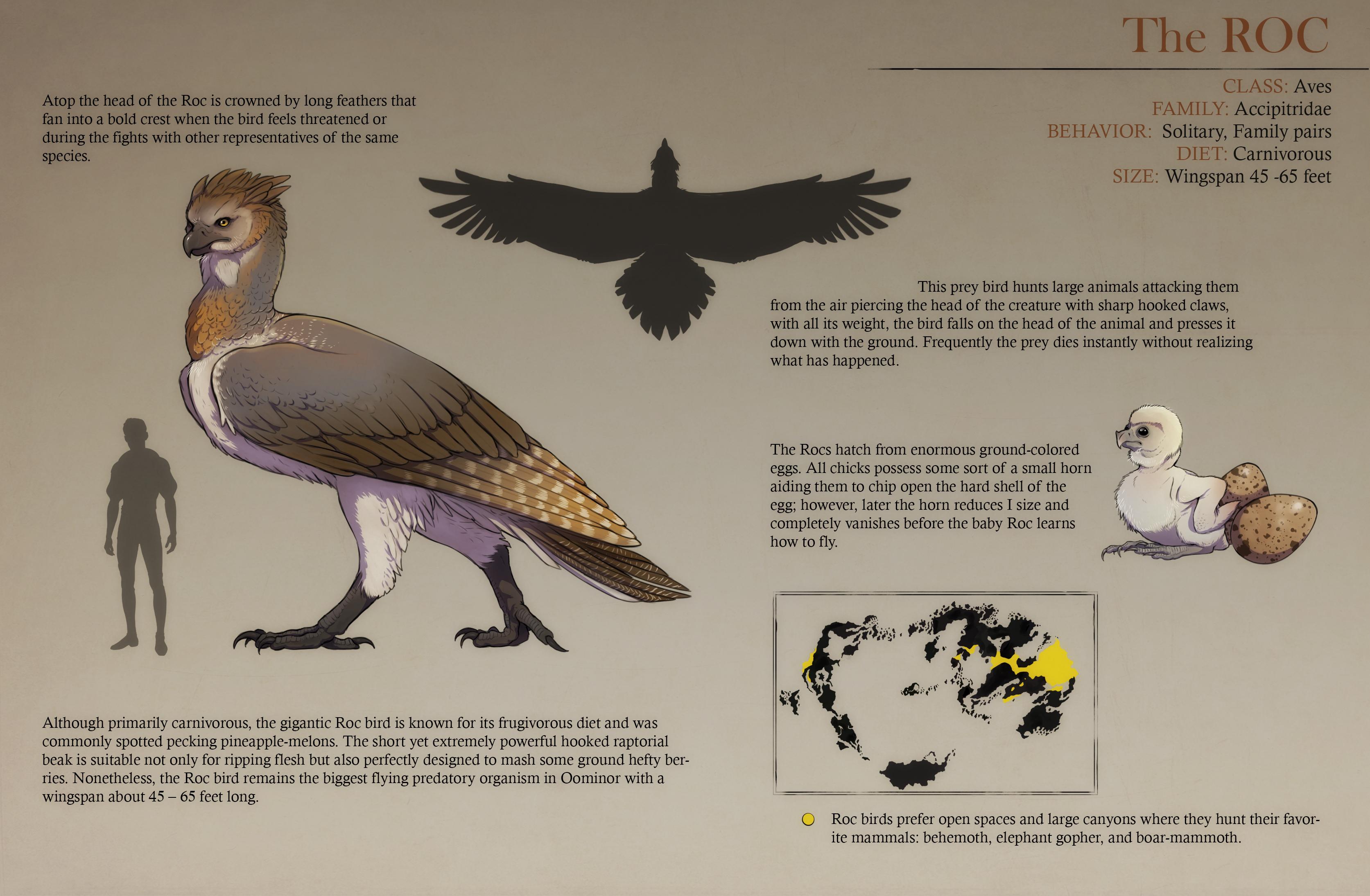 Fantasy Animals - Roc Bird