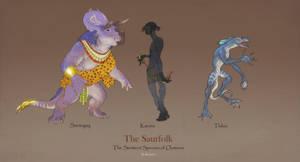 Fantasy Race: Saurfolk