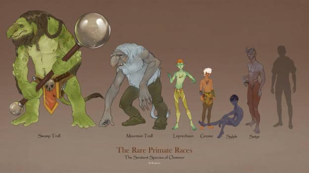 Fantasy Race: Trolls and Fae