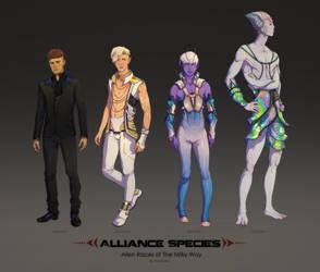 Alien Races - The Species of Alliance