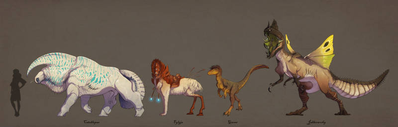 Fantasy Animals VOL VII