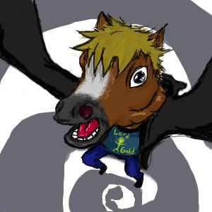 Horse the Fan by UserNamE-ERROR