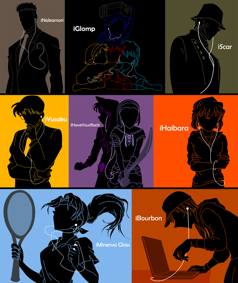 iPods of Detective Conan 13 by Mosflow