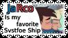 Star Vs Ship Stamp: Jarco