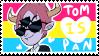 Pan Tom Stamp by Jess-the-vampire