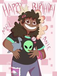 Happy birthday Mel